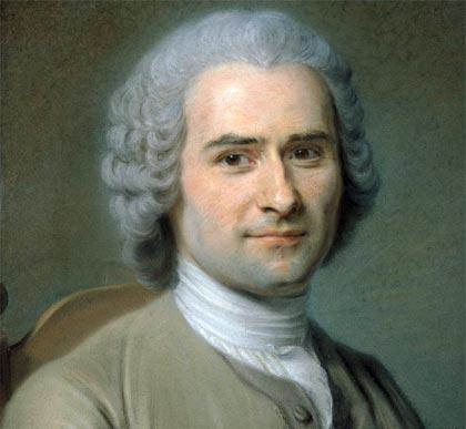 El Eurociudadano nudista - Jean Jacques Rousseau